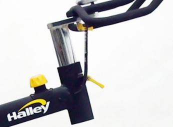 Halley Fitness ciclo indoor y bicicleta de spinning