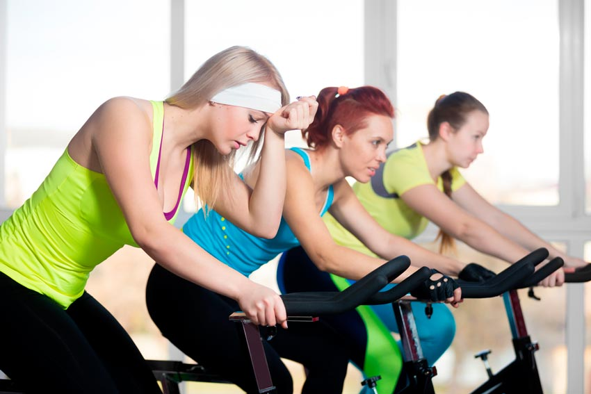 agobio clases spinning
